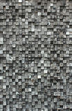 Cube black wood royalty free stock images