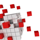 Cube chaos Royalty Free Stock Photography