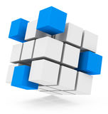 The cube concept Stock Photography
