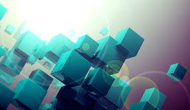 Cube concept Stock Photo