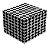 Cube in a Cube Royalty Free Stock Photo