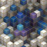 Cube, Cubic, Design, 3D, Shape Royalty Free Stock Image