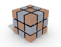 Cube 3d Stock Photos