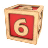 Cube 6 Stock Photography