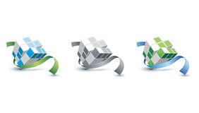 Cube 3D Stock Photo