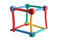 Cube des rouleaux de cheveu photo libre de droits
