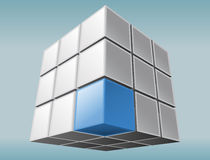 Cube element Royalty Free Stock Photos