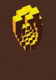cube en art Photographie stock libre de droits
