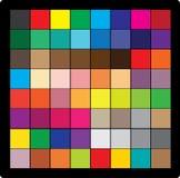 Cube en couleur Illustration de Vecteur