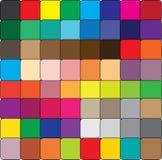 Cube en couleur Illustration Stock