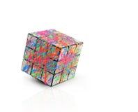 Cube en créativité photographie stock