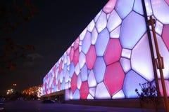 Cube en eau Image libre de droits