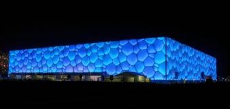 Cube en eau dans le festival de source chinois Eve 2 image libre de droits