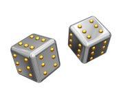 Cube en jeu Photos libres de droits