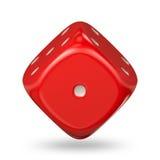 Cube en jeu Images stock