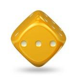 Cube en jeu Image stock