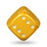 Cube en jeu Image libre de droits