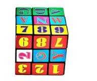 Cube en Rubik Photo libre de droits