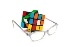 Cube en Rubik s Image libre de droits