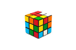 Cube en Rubik s Photo stock
