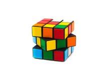 Cube en Rubik s Photographie stock