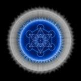 Cube en ` s de Metatron illustration libre de droits