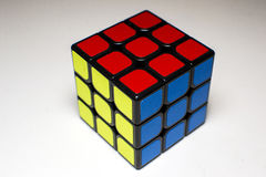 Cube en ` s de Rubik Images libres de droits