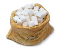 Cube en sucre Photos stock