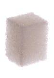 Cube en sucre blanc Photographie stock libre de droits
