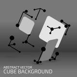 Cube figure Stock Photo