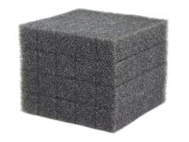 Cube of Foam Stock Image