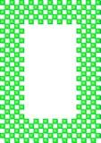 Cube frame Stock Photo