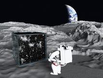Cube galactique illustration stock