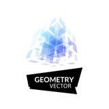 Cube geometry construction icon Stock Photos
