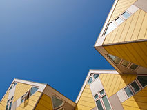 Cube Houses Stock Images