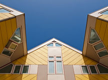Cube Houses Royalty Free Stock Photography