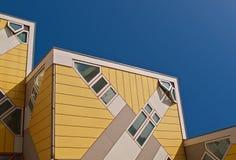 Cube Houses Stock Photo