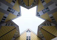 Cube houses 3 Royalty Free Stock Image