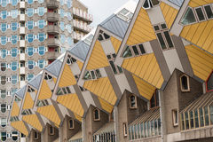 Cube houses in Rotterdam Royalty Free Stock Images