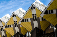 Cube houses in Rotterdam Stock Image