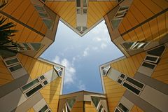 Cube houses from Rotterdam - Holland Stock Photography