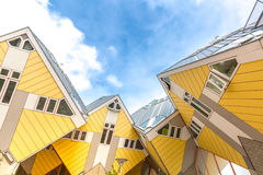 Cube houses Rotterdam Netherlands Royalty Free Stock Images