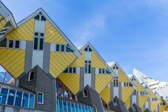 Cube houses, Rotterdam the Netherlands Stock Photos