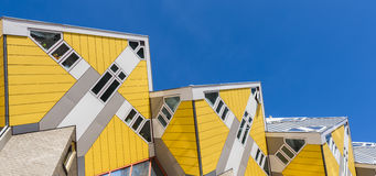 Cube Houses Rotterdam Sky in Line Royalty Free Stock Photo