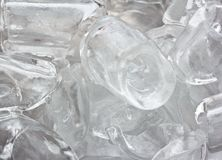 Cube of ice. Stock Image