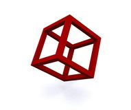 Cube illustration Royalty Free Stock Photo