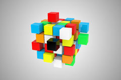 The cube Stock Images
