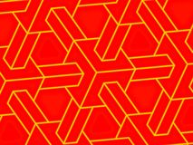 Cube lattice up close Royalty Free Stock Images