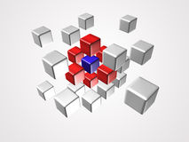 Cube logo Stock Images