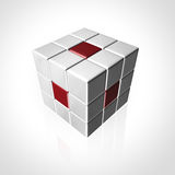 Cube logo Stock Photo